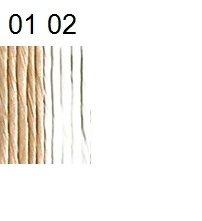 Papīra aukla smalka (balināta un nebalināta)